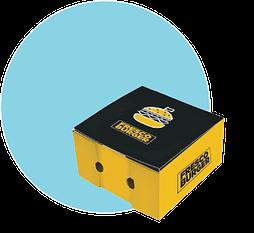 burger box e scatole er take away e asporto Napoli