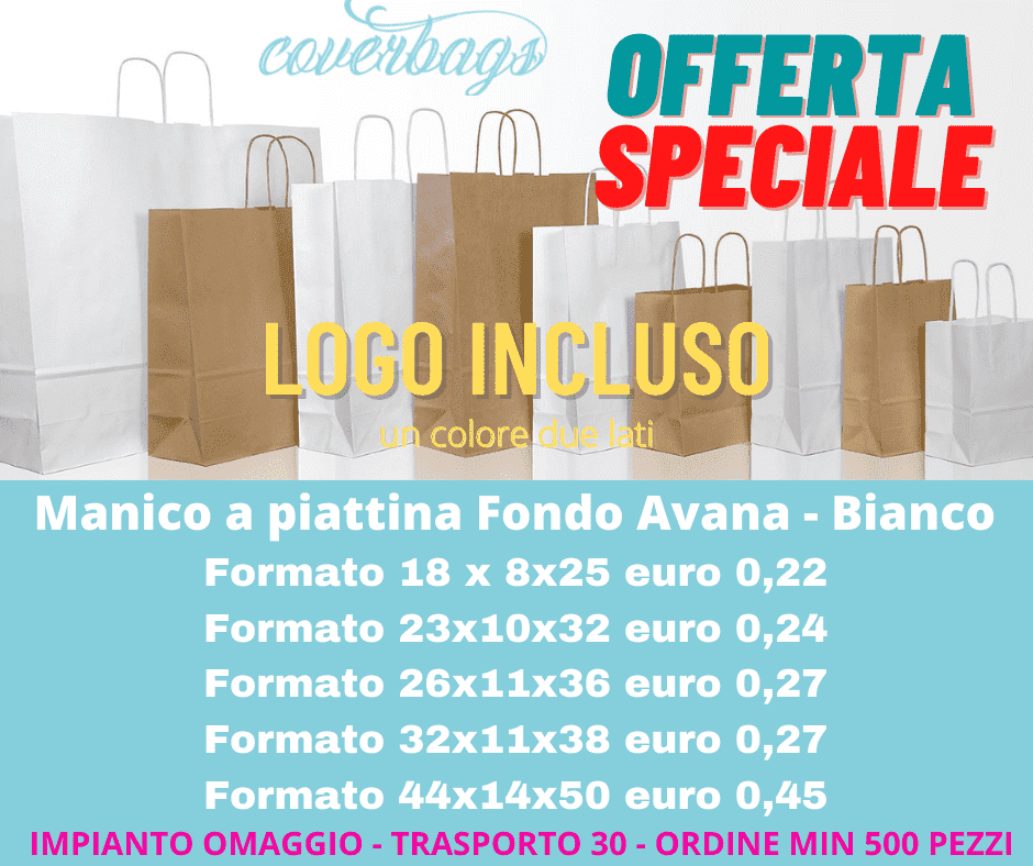 shopping bags in offerta speciale