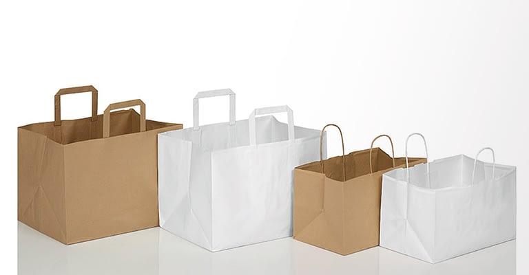 sacchetti di carta take away per asporto