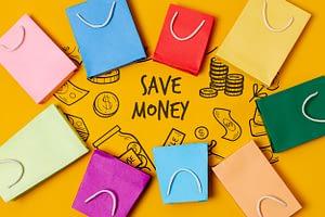 offerte shopper di carta