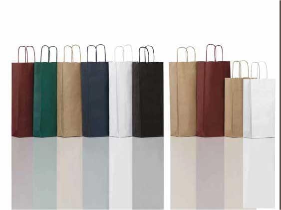 sacchetti di carta vino automatici economici personalizzati