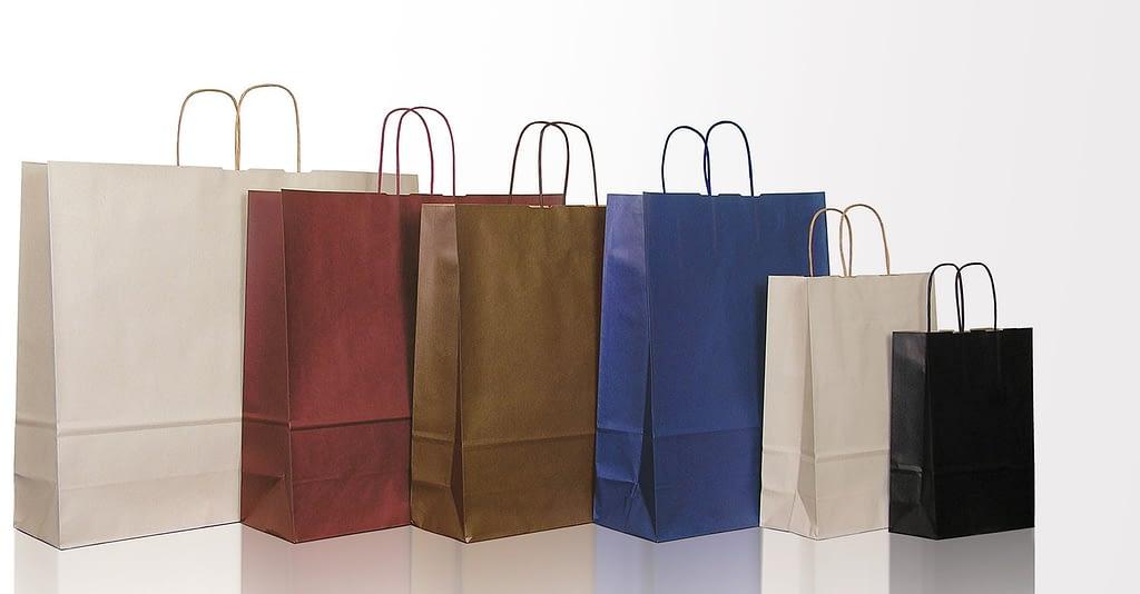 sacchetti di carta automatici personalizzati linea Classic